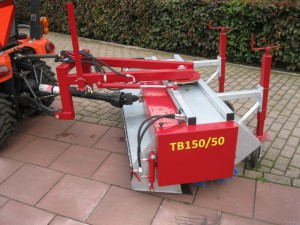 SCK-machinery TB50 serie veegmachines