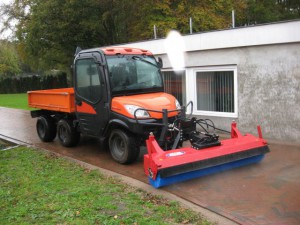 SCK-machinery fronthef voor Kubota RTV